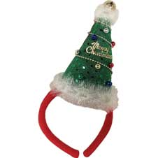 Mini Christmas Tree Headband