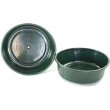 Water Bowl w/Grommet, 2.5 Gallon