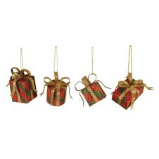 Tartan Plaid Gift Box