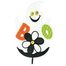 "Ghost ""Boo"" Wind Spinner"