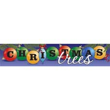 Christmas Trees (Ornaments Banner)