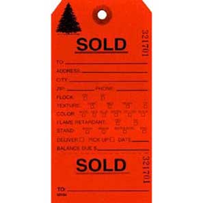 SOLD #7 DAY-GLO ORANGE