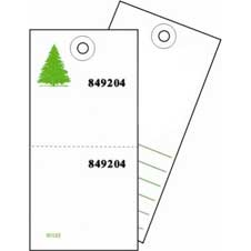 60123 Sales #5 Tyvek Tag