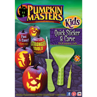 Pumpkin Masters Kids, Quick Sticker & Carve