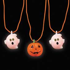 Halloween Blinking Necklace
