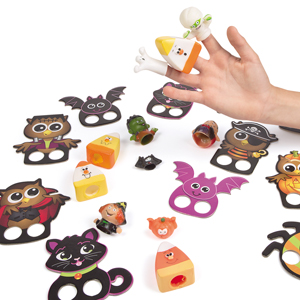 Halloween Finger Puppet Assortment