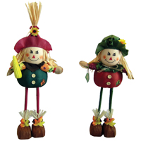 20 inch Plush Standing Scarecrow
