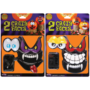 Crazy Faces Pumpkin Kit