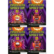 Crazy Legs Spider Decorating Kit