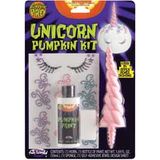 3-D Unicorn Pumpkin Kit