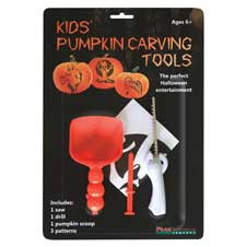 Kids' Pumpkin Carving Tools