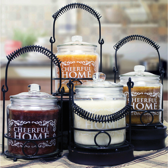 Cheerful Home Candle Collection