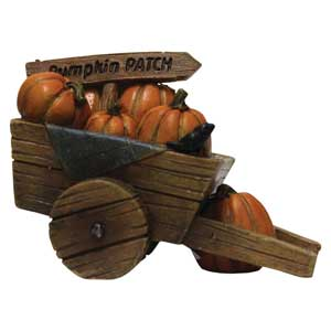 Pumpkin Patch Wheelbarrow