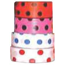 Superior Flagging Tape Dot (RED ON WHITE)