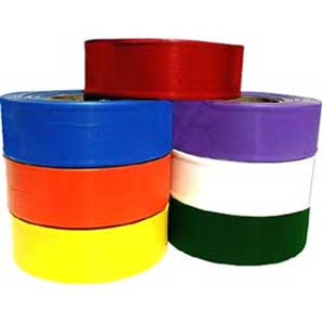 Superior Flagging Tape Solid - RED