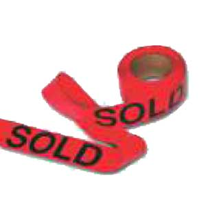 SOLD Flagging Tape