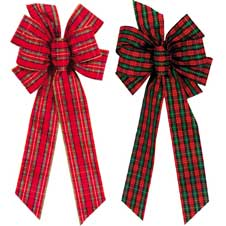 #40 Assorted Plaid Bows