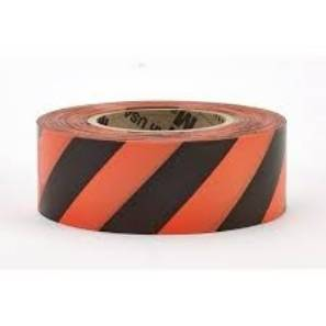 Superior Flagging Tape Striped Orange/Black
