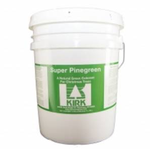 KIRK Natural Tree Colorant - Super Pinegreen - 5 Gal Pail