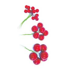 Red Berries - 20mm