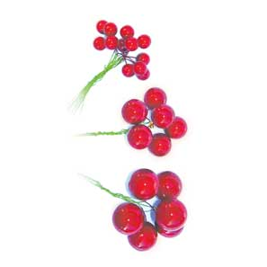 Red Berries - 12mm