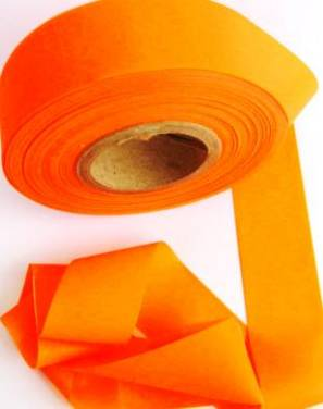 Superior Flagging Tape Glo Solid - ORANGE