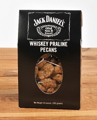 10 oz Box Jack Daniel's Whiskey Praline Pecans