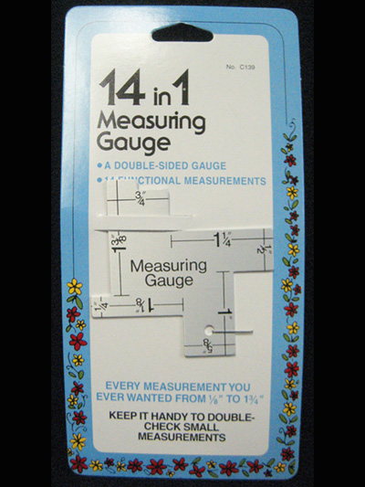 14 in 1 Measuring Gauge