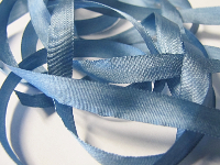 YLI Silk Ribbon, 7mm — 046 (country blue)_THUMBNAIL
