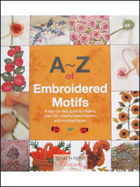 A - Z of Embroidered Motifs - by Search Press