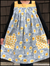 Popover Pinafore Apron — Sunflowers Mini-Thumbnail