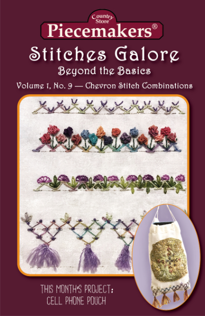 Stitches Galore:  Beyond the Basics—Volume 1, No. 9—Chevron Stitch Combinations_MAIN