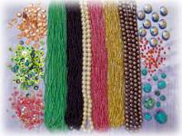 Sequins by Colour Streams, Seed Beads, Velvet Leaves, and Other Embellishments