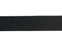 "1"" Wide Vintage Grosgrain Ribbon – Black_THUMBNAIL"