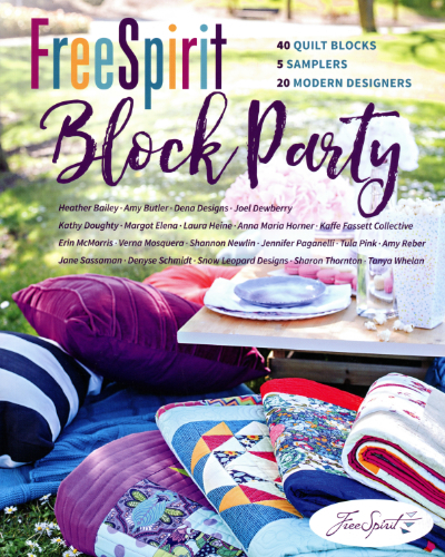 Free Spirit Block Party – by Free Spirit Fabrics