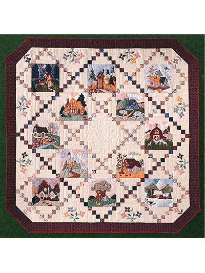 Piecemakers 1997 Times And Seasons Patterns Piecemakers