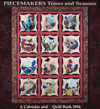 Piecemakers 2016 Times and Seasons Calendar and Quilt Book Mini-Thumbnail