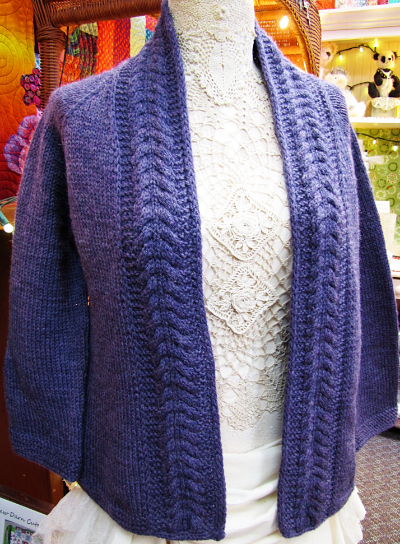 Knit-A-Long Raglan Cardigan
