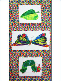 "Andover Fabrics ""The Very Hungry Caterpillar"" # 3471 col. M - The Very Hungry Caterpillar Panel"