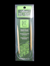 Clover Takumi Bamboo Circular Knitting Needles – No. 8 (5.0mm) *_THUMBNAIL