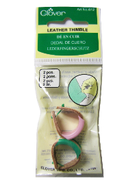 Clover Leather Thimble – 2 Pieces_THUMBNAIL