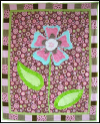Cozy Flower Baby Quilt Mini-Thumbnail