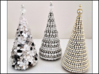 Elegant Table Top Christmas Trees