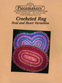 Crocheted Oval/Heart Rug (revised)
