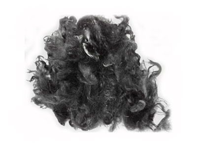 Kid Mohair — Dyed Black