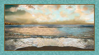 "Quilting Treasures ""Artworks"" # 1649-24635-Q – Ocean Horizon"