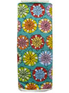 "Andover Fabrics ""Flower Doodle"" #5793 col. T - Bright Flowers on Turquoise Mini-Thumbnail"