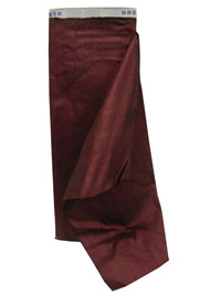 Burgundy Dupioni Silk Fabric