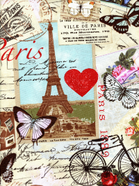 Timeless Treasures # C2299 - Paris Antique