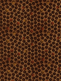 "Quilting Treasures ""Daily Grind"" #1649-21678-A - Coffee Beans"